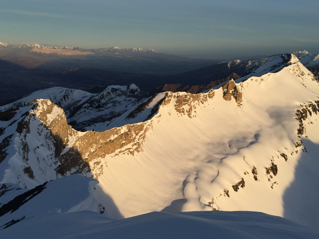 Skiing From Mt Timpanogos To Mt Olympus Teague Holmes